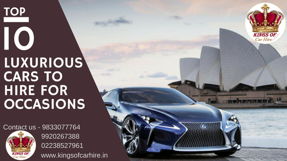 Top 10 Luxury Cars To Hire For Occasions